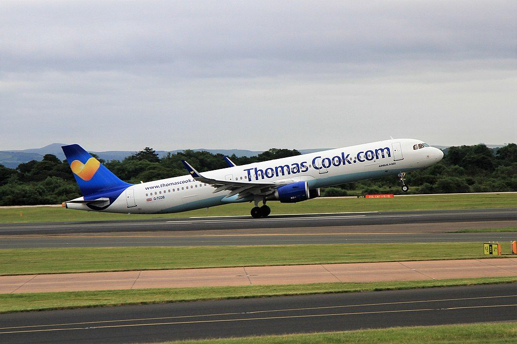 Airbus A321 211WL Thomas Cook Airlines G TCDB at Manchester Airport