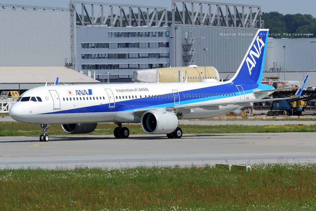 Airbus A321 272N JA133A ANA All Nippon Airways
