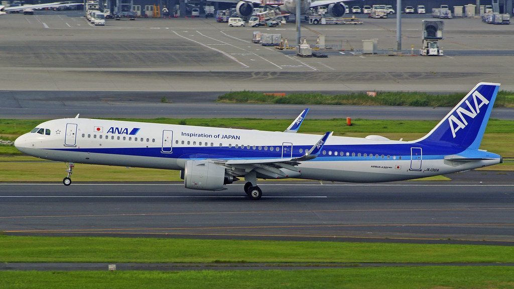 Airbus A321 272N JA136A All Nippon Airways ANA