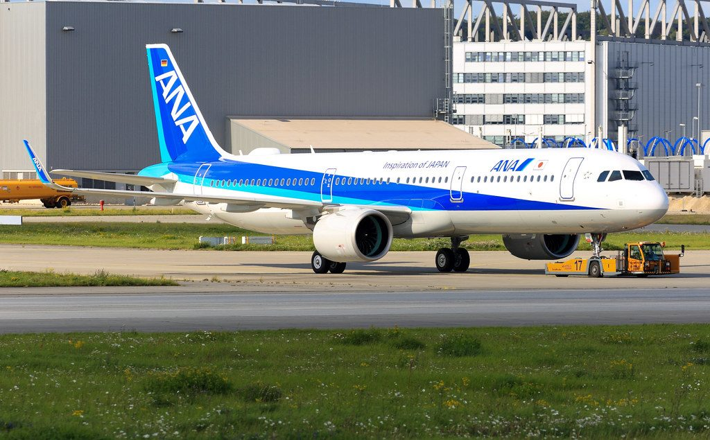 Airbus A321neo ANA All Nippon Airways JA131A