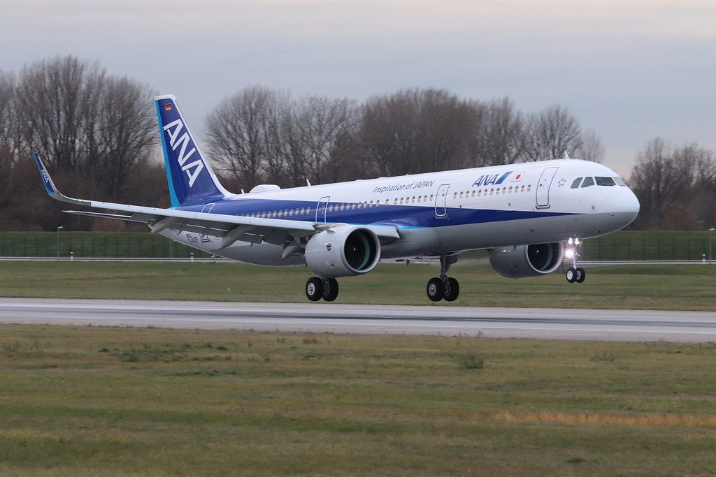 Airbus A321neo All Nippon Airways JA139A
