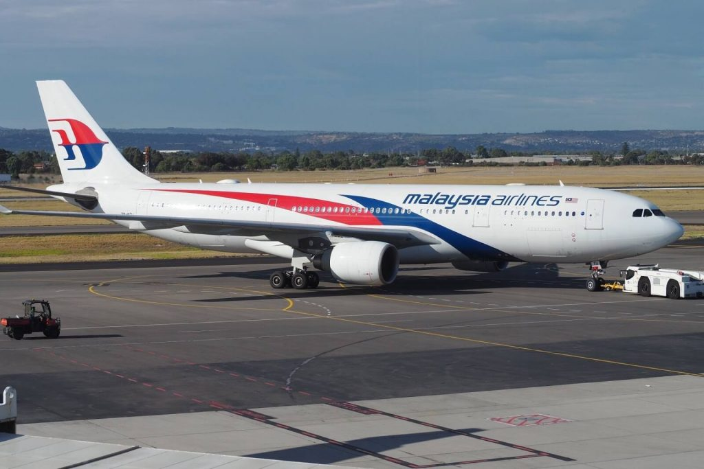 Airbus A330 223 Malaysia Airlines 9M MTU at Adelaide Airport