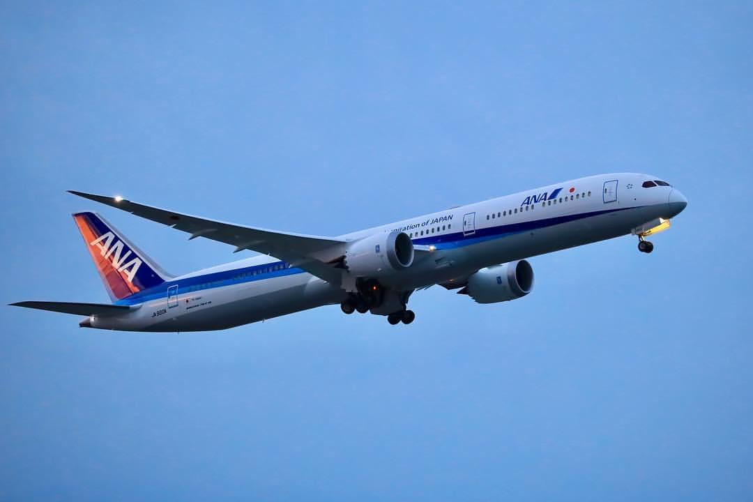 All Nippon Airways ANA JA900A Boeing 787 10 Dreamliner Photos