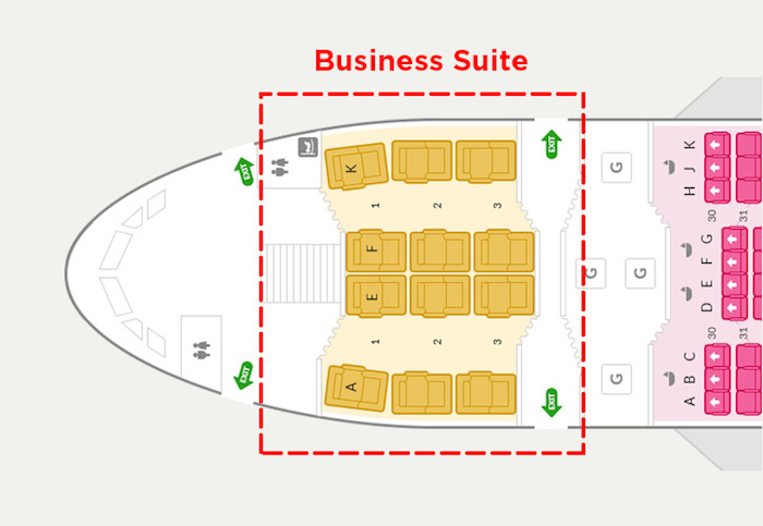 Asiana Airlines Business Suites