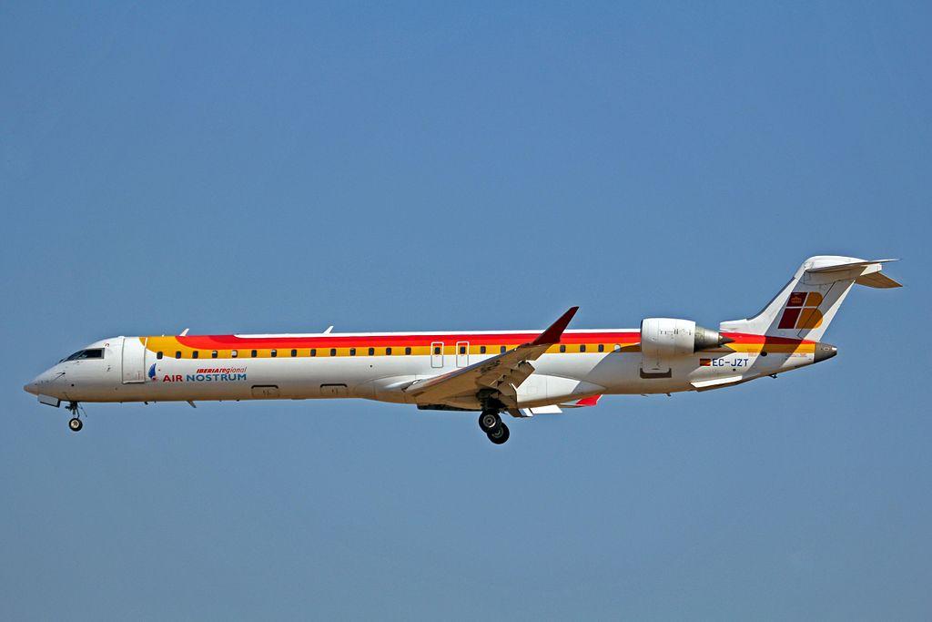 EC JZT Bombardier CRJ 900ER Iberia Regional Air Nostrum at Palma de Mallorca Airport