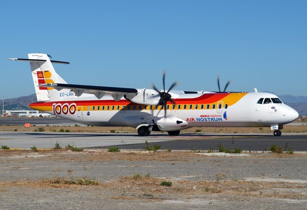 EC LRH Air Nostrum Iberia Regional ATR 72 600 at Málaga Airport
