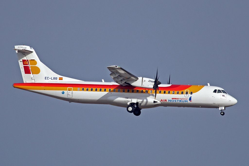 EC LRR ATR72 600 Iberia Regional Air Nostrum at Palma de Mallorca Airport