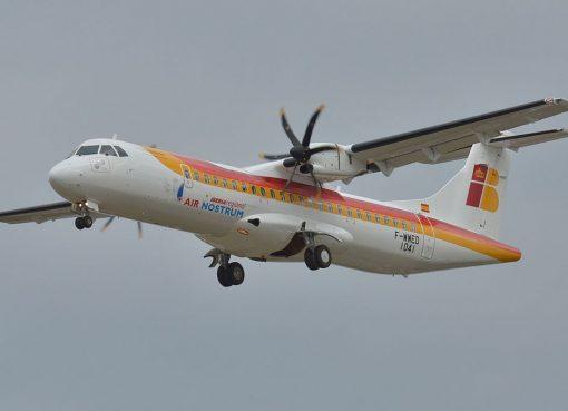 EC LSQ ATR 72 600 Iberia Regional Air Nostrum F WWED at Toulouse Blagnac International Airport