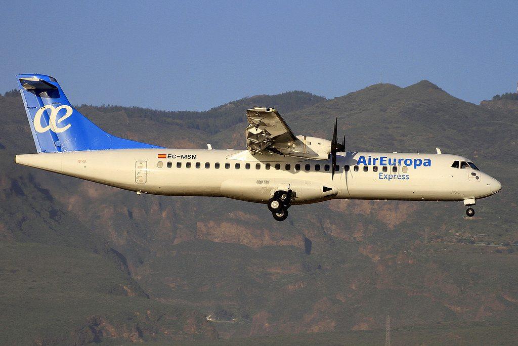 EC MSN ATR 72 Air Europa Express at Gran Canaria Airport