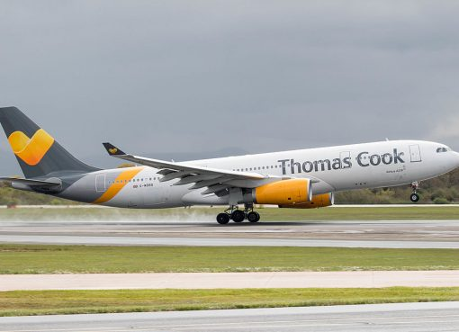 G MDBD Airbus A330 243 Thomas Cook Airlines at Manchester Airport