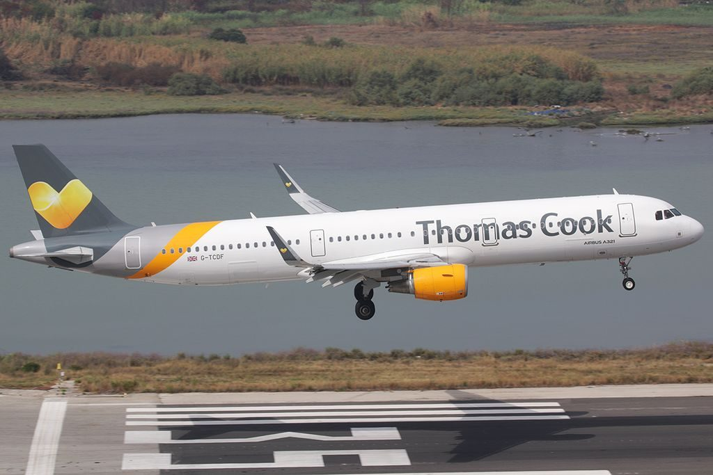 G TCDF Thomas Cook Airlines Airbus A321 211WL
