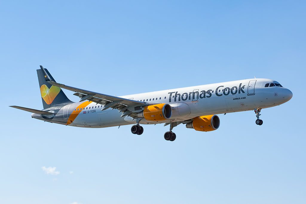 G TCDG Airbus A321 211WL of Thomas Cook Airlines at Lanzarote Airport
