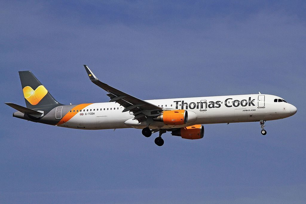 G TCDH Airbus A321 211WL of Thomas Cook Airlines at Lanzarote Airport