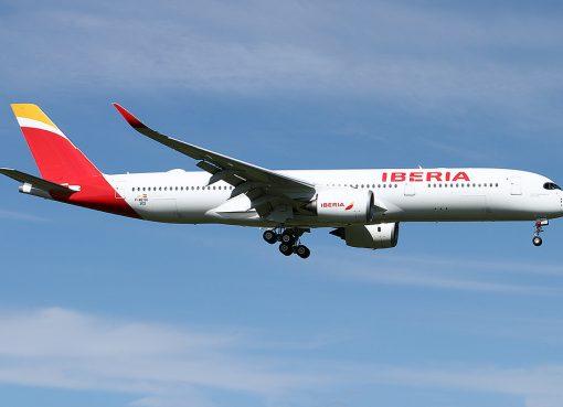 Iberia Airbus A350 941 EC NCX Selección Española de Fútbol