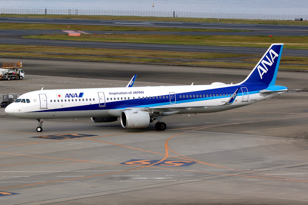 JA135A Airbus A321 272N All Nippon Airways ANA