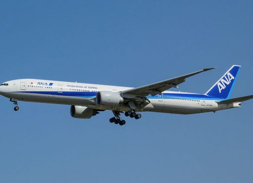 JA736A Boeing 777 381ER of All Nippon Airways ANA at Beijing Capital International Airport