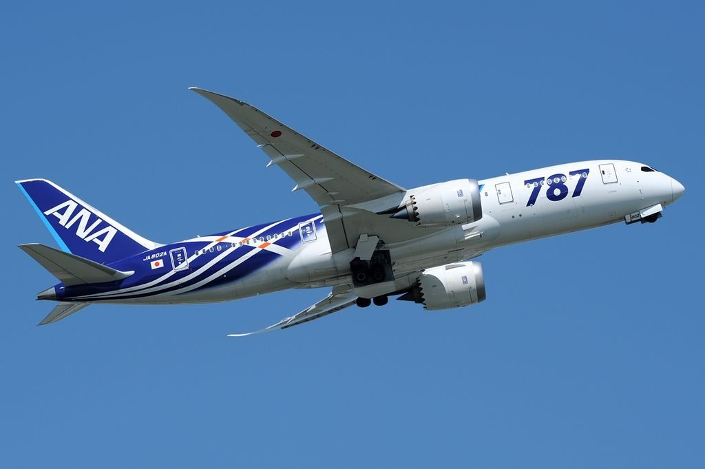 JA802A Boeing 787 8 Dreamliner All Nippon Airways ANA at Tokyo Haneda International