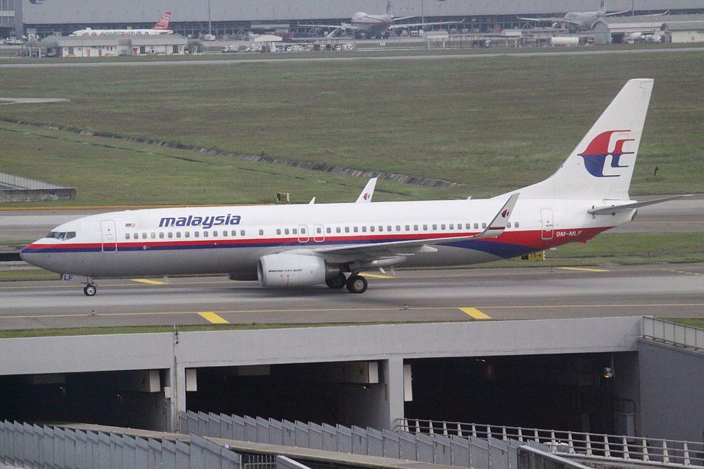 Malaysia Airlines 9M MLF Boeing 737 8FZ at Kuala Lumpur International Airport