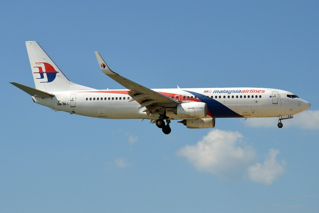 Malaysia Airlines 9M MLL Boeing 737 8FZWL
