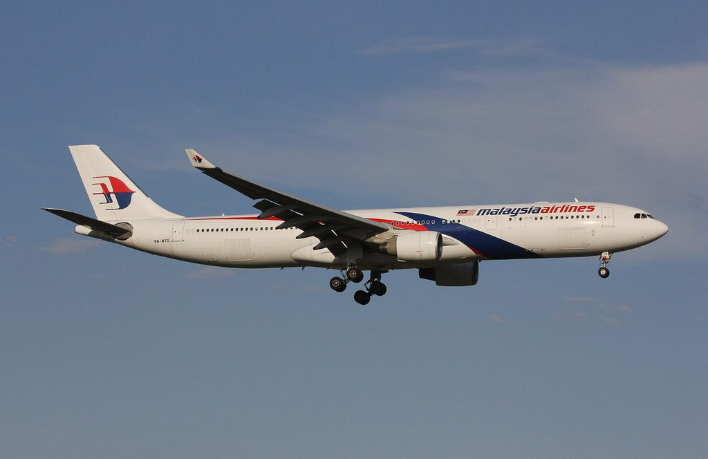 Malaysia Airlines 9M MTD Airbus A330 323X at Melbourne