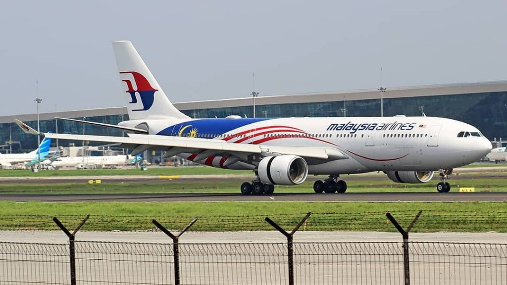 Malaysia Airlines 9M MTY Airbus A330 223 Negaraku Livery ex Air Berlin D ABXE