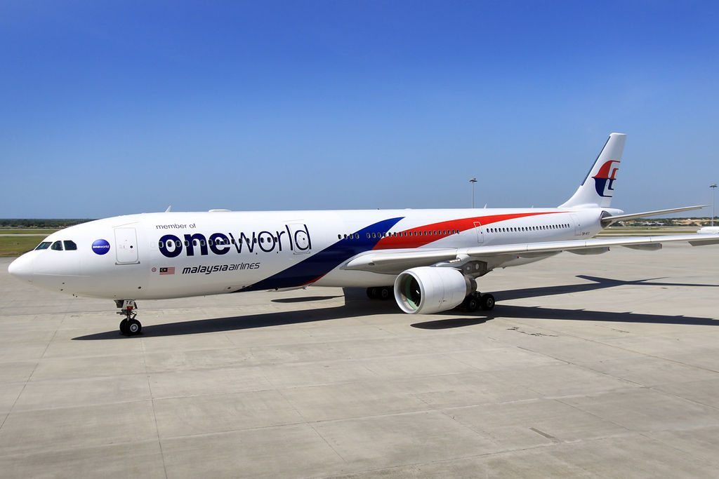Malaysia Airlines Airbus A330 300 9M MTE Oneworld livery at KLIA