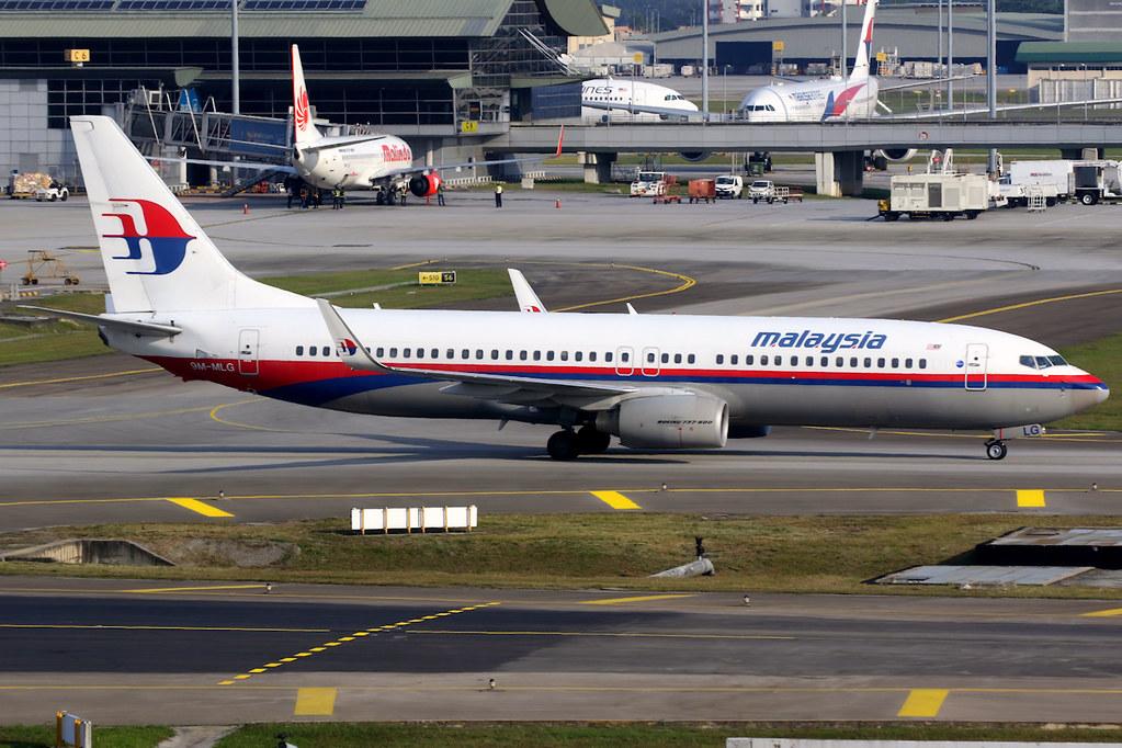 Malaysia Airlines Boeing 737 800 9M MLG Kuala Lumpur International