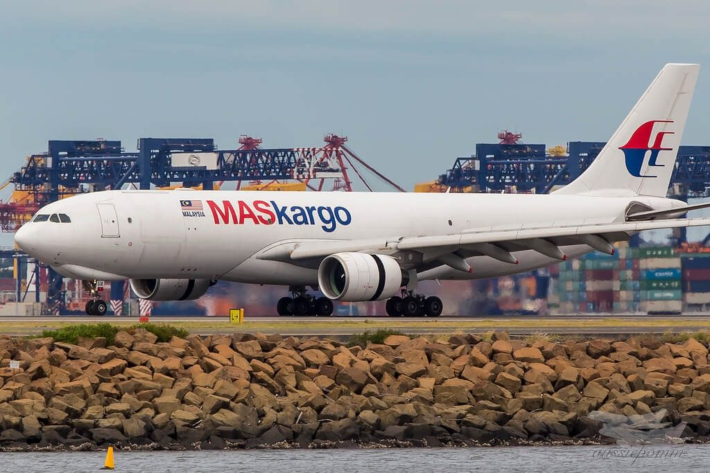 Malaysia Airlines MasKargo 9M MUA Airbus A330 223F at Sydney Airport