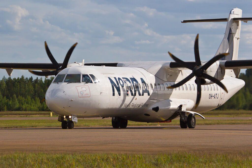 ATR 72 500 OH ATJ NORRA Nordic Regional Airlines Finnair