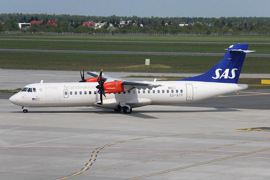 ATR 72 600 72 212A ES ATF Nordica Fjölner Viking Scandinavian Airlines SAS