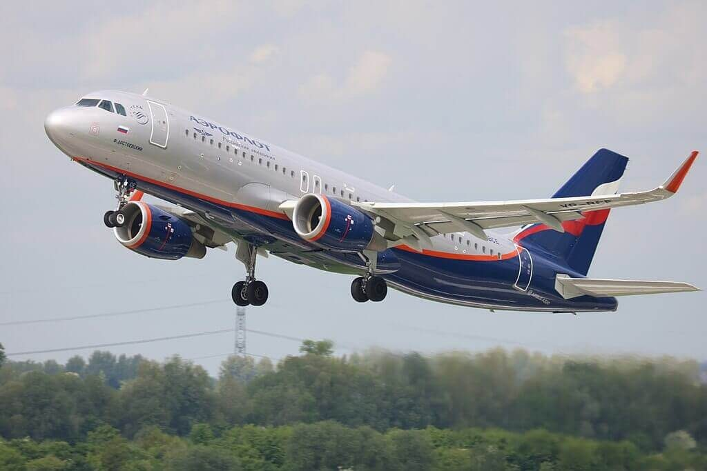 Aeroflot Airbus A320 214WL VP BCE F. Dostoevsky Ф. Достоевский at Düsseldorf Airport