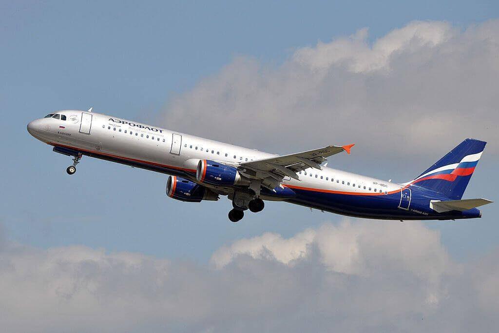 Aeroflot Airbus A321 211 VP BDC V. Alekseev В. Алексеев at Düsseldorf Airport