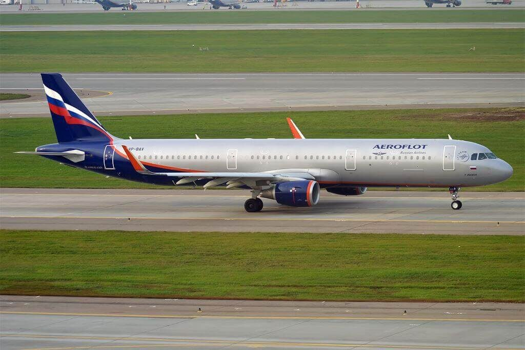 Aeroflot Airbus A321 211WL VP BAV F. Ushakov Ф. Ушаков at Sheremetyevo International Airport