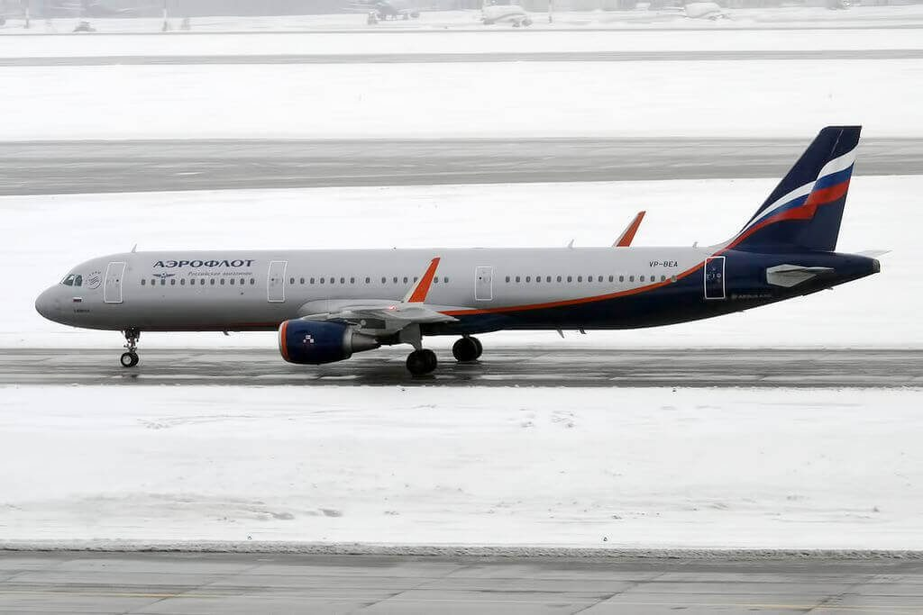 Aeroflot Airbus A321 211WL VP BEA A. Schnittke А. Шнитке at Sheremetyevo International Airport