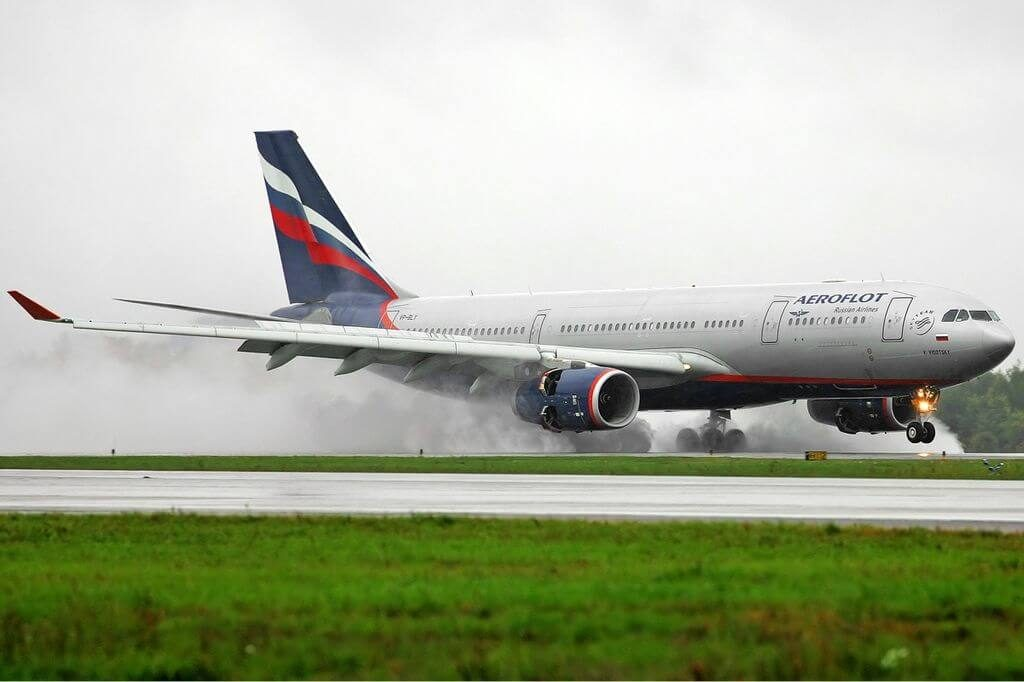 Aeroflot Airbus A330 243 VP BLY V. Visotsky В. Высоцкий at Sheremetyevo International Airport