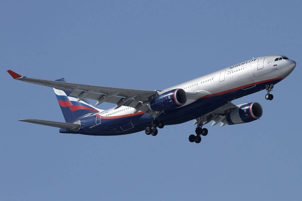 Aeroflot Airbus A330 243 VQ BBG N. Gogol Н. Гоголь at Sheremetyevo International Airport