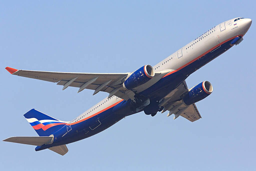 Aeroflot Airbus A330 343 VQ BMX A. Sakharov А. Сахаров