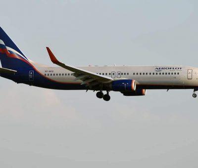 Aeroflot Boeing 737 8LJWL VP BCD N. Karamzin Н. Карамзин at Sheremetyevo International Airport