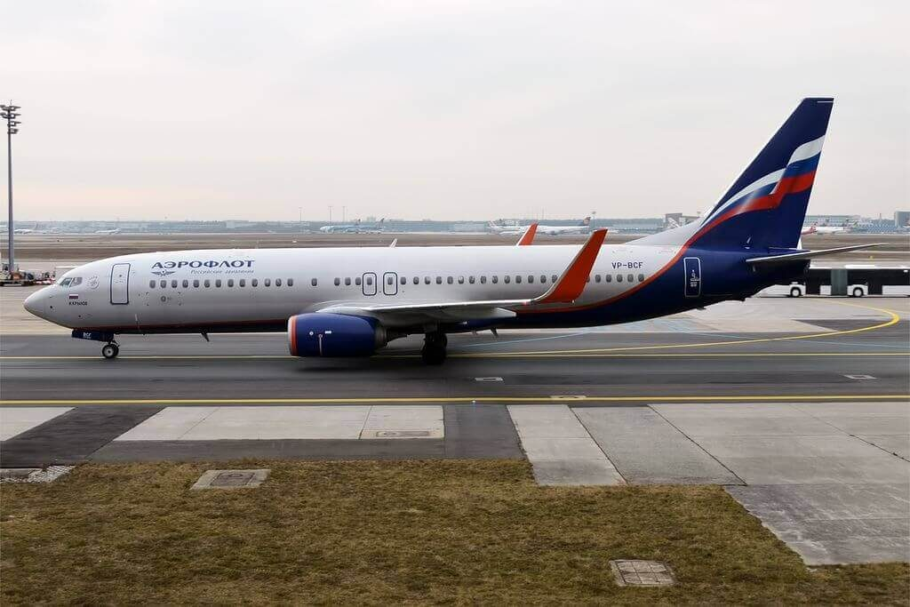 Aeroflot Boeing 737 8LJWL VP BCF I. Krylov И. Крылов at Frankfurt Airport
