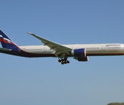 Aeroflot Boeing 777 3M0ER VP BHA A. Skriabin А. Скрябин