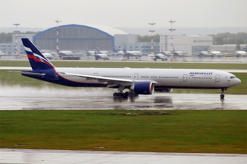 Aeroflot Boeing 777 3M0ER VP BPG A. Babadzhanyan А. Бабаджанян at Sheremetyevo International Airport