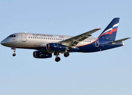 Aeroflot RA 89024 Sukhoi Superjet 100 95B D. Barilov Д. Барилов at Tallinn Airport