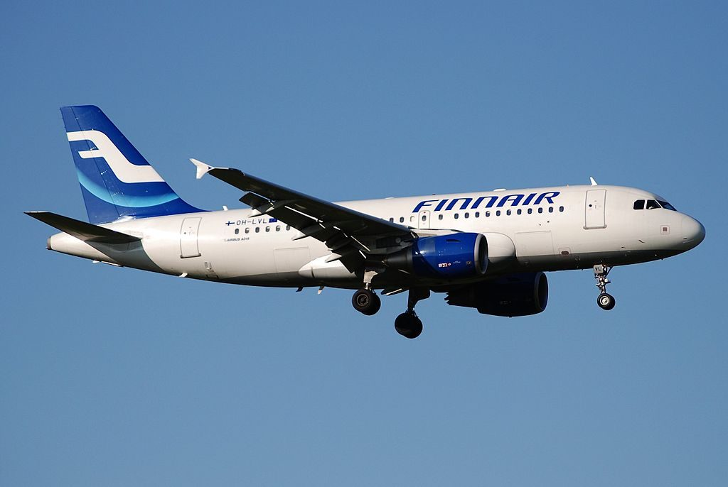 Airbus A319 112 Finnair OH LVL at Zurich International Airport