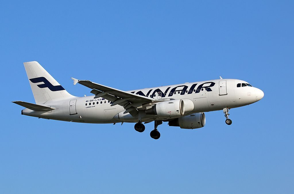 Airbus A319 112 OH LVA Finnair aircraft at Hamburg Airport