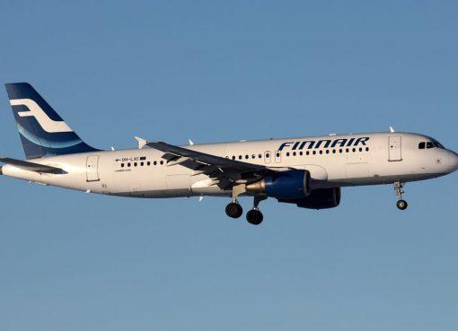 Airbus A320 214 Finnair OH LXC at Helsinki Vantaa Airport