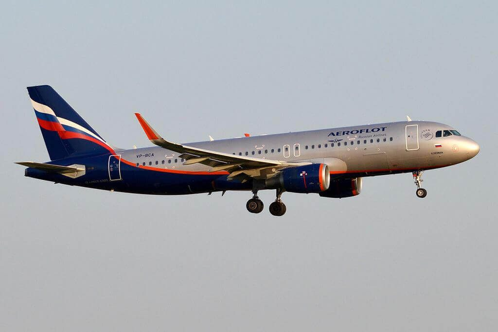 Airbus A320 214WL VP BCA A. German А. Герман Aeroflot at Sheremetyevo International Airport