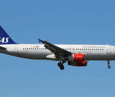 Airbus A320 232 Scandinavian Airlines SAS OY KAL Jon Viking at London Heathrow Airport