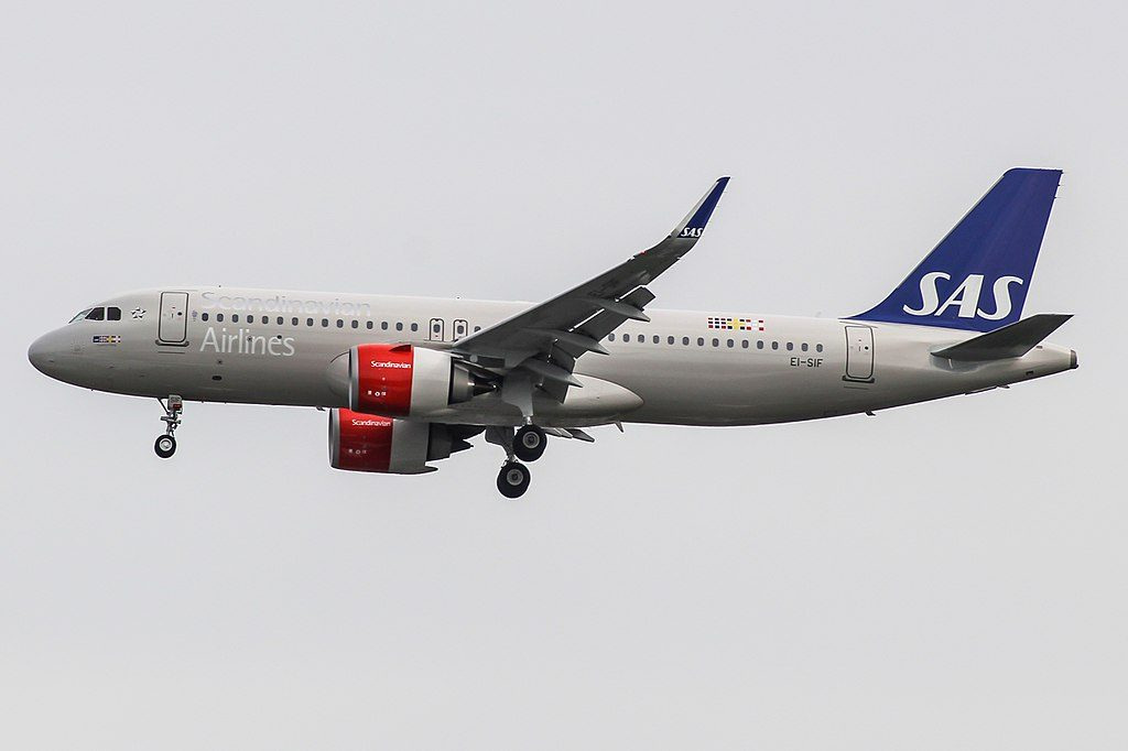 Airbus A320 251N EI SIF SAS Ireland Turgesius Viking at London Heathrow Airport