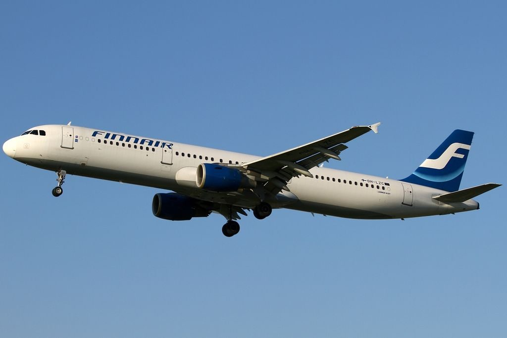 Airbus A321 211 Finnair OH LZC at London Heathrow Airport