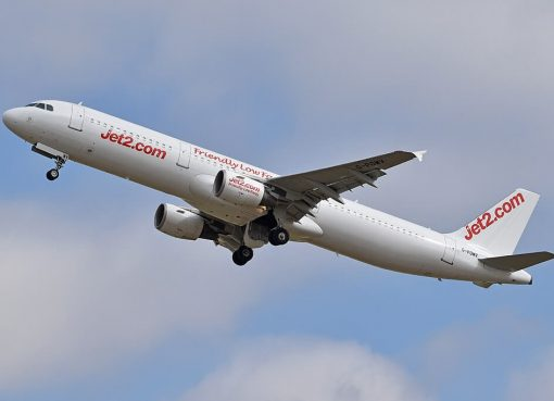 Airbus A321 211 Jet2 G POWV at London Stansted Airport